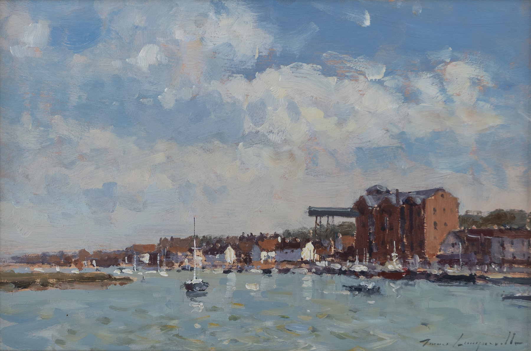 Clouds over the Harbour, Wells-Next-The-Sea