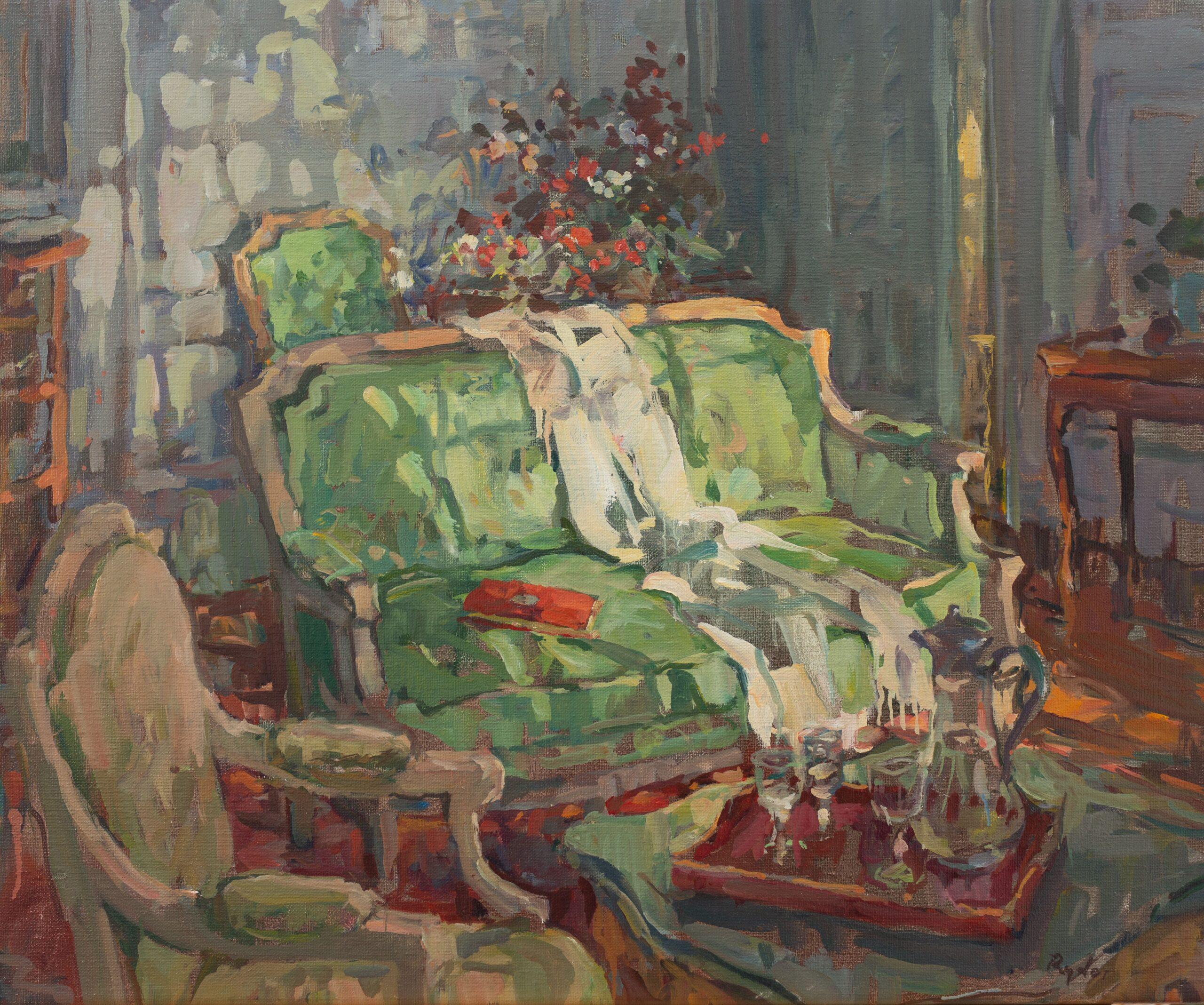 Sunlit Sofa