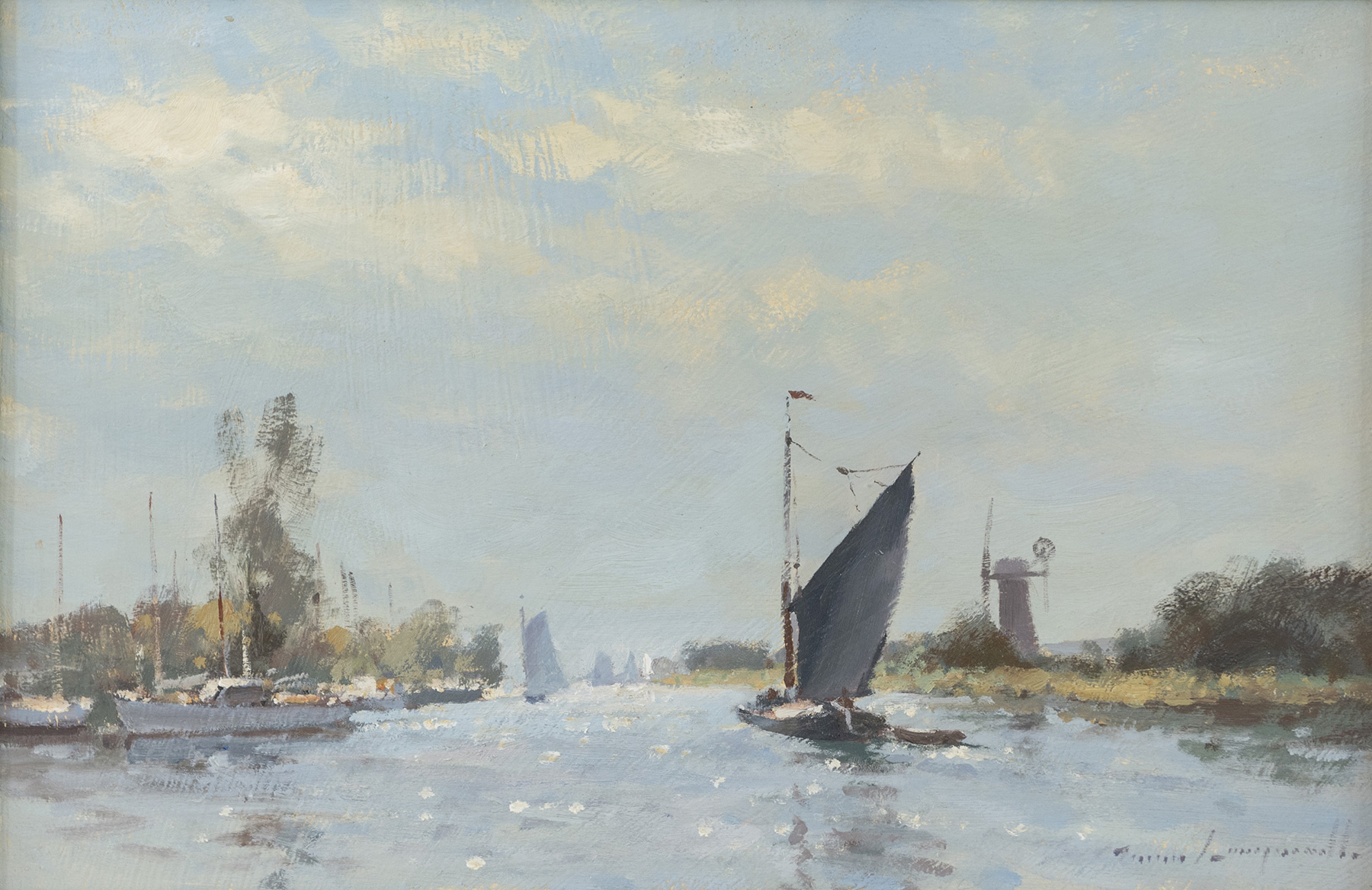 Sails on the Thurne