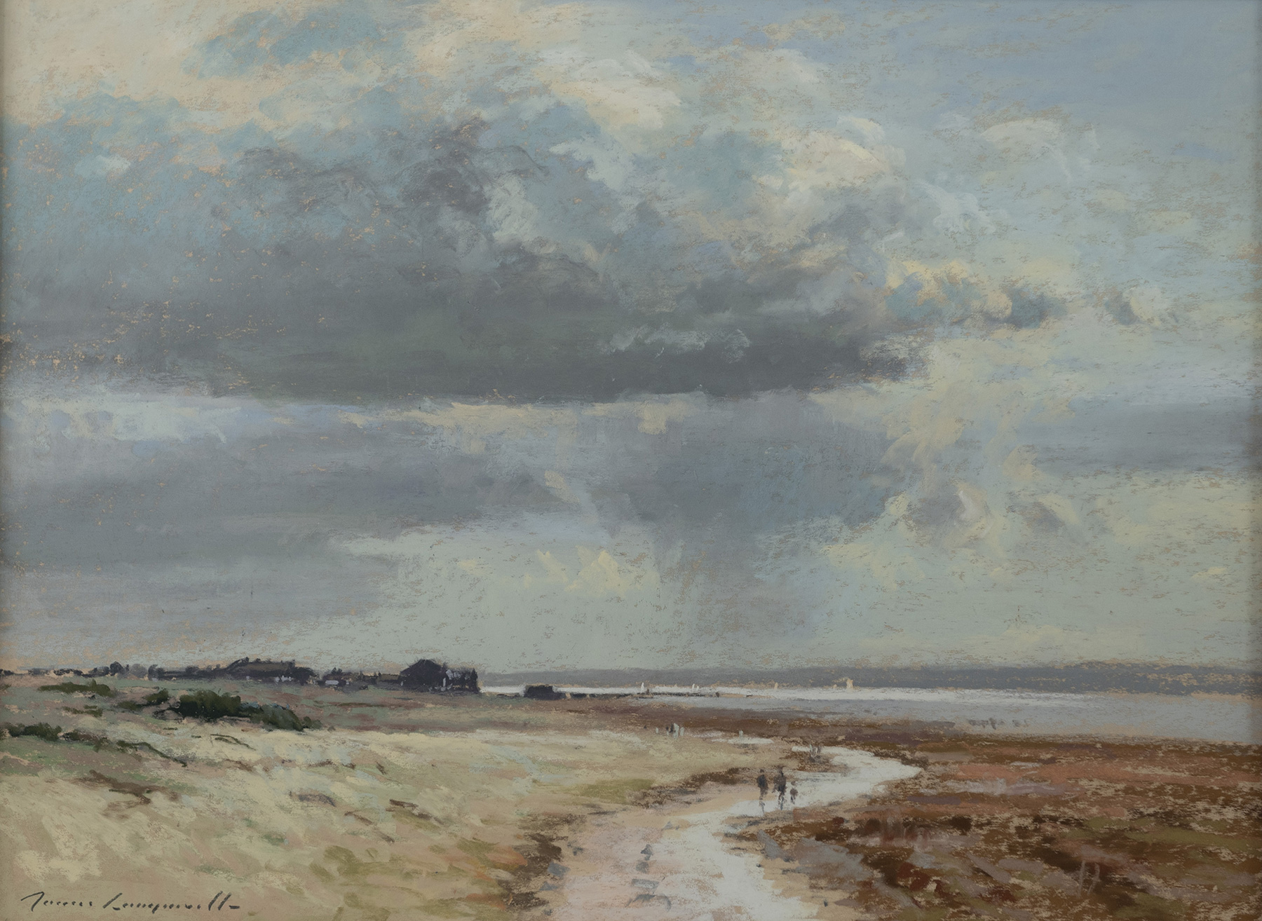Showers over the Estuary, Wirral