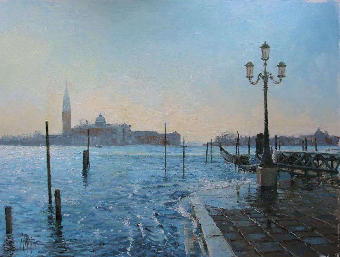 St-Marks-Square-Venice-oil-18-x-24