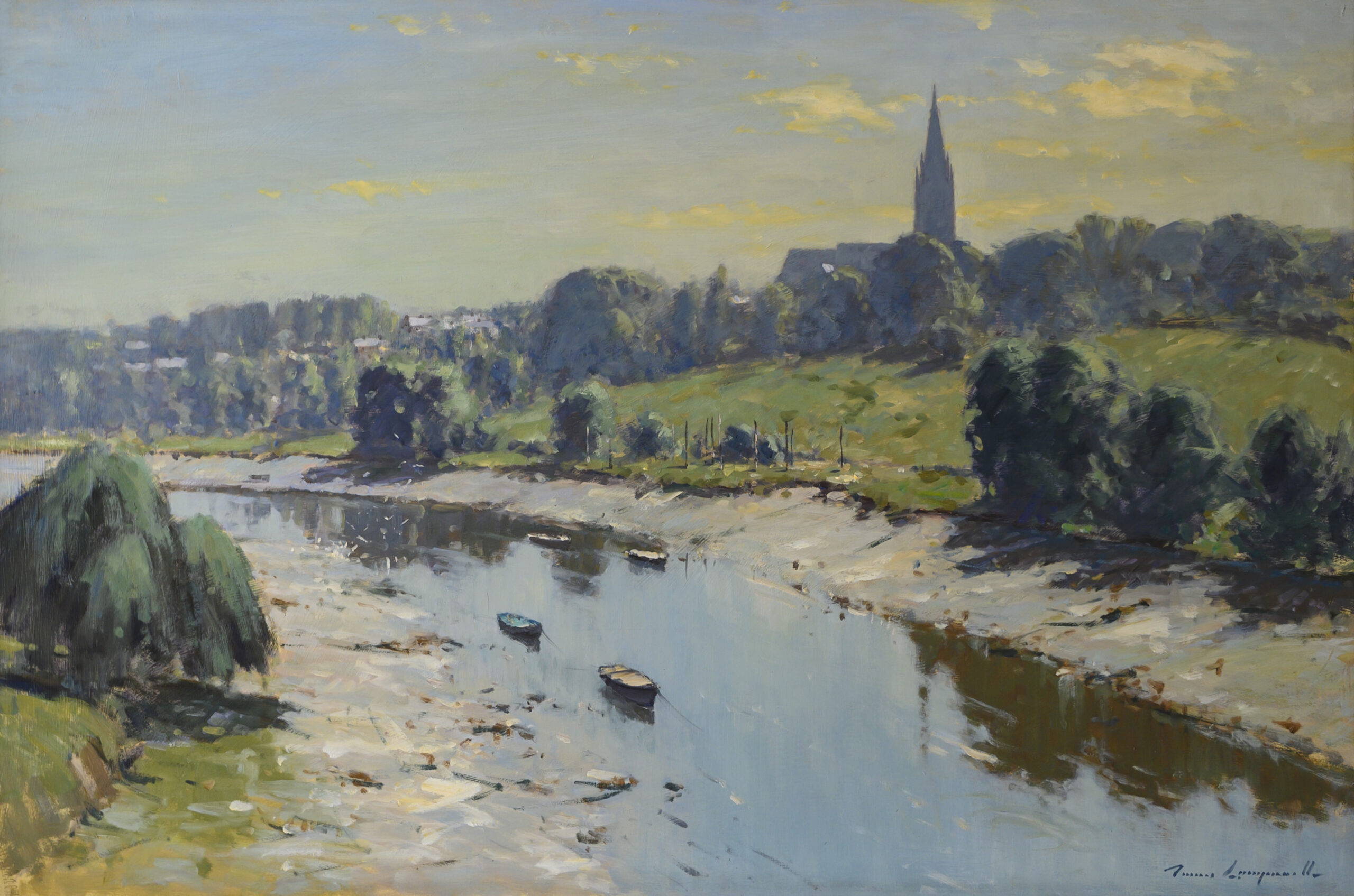 The River Dee at Handbridge