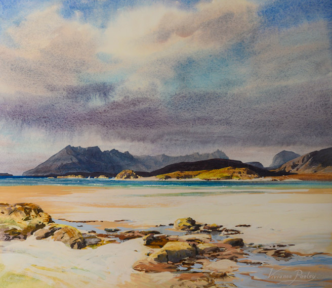 View of the Cuillins from Tarskavaig, Isle of Skye