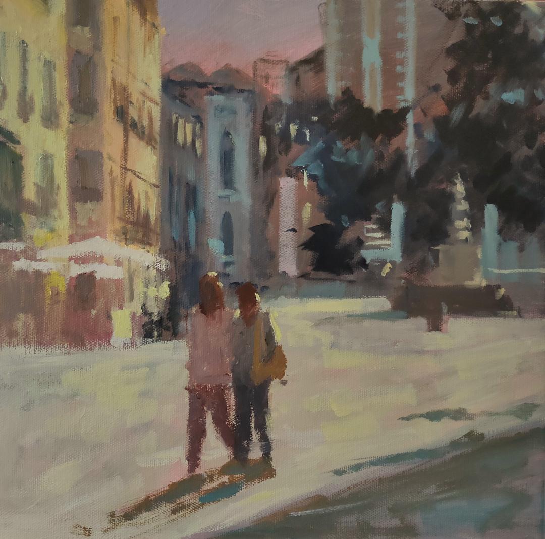 Walking Through Venice