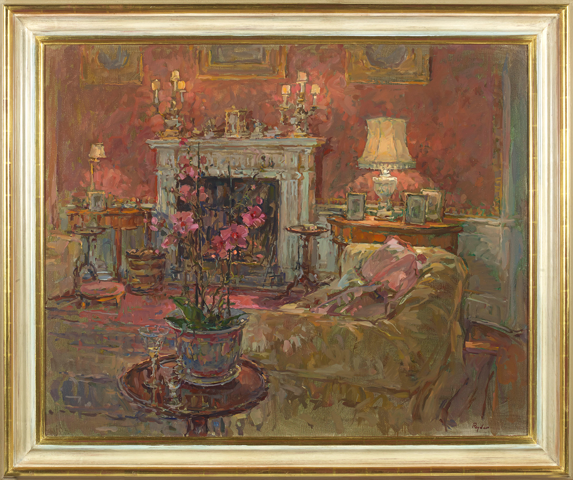 Morning Room with Orchid