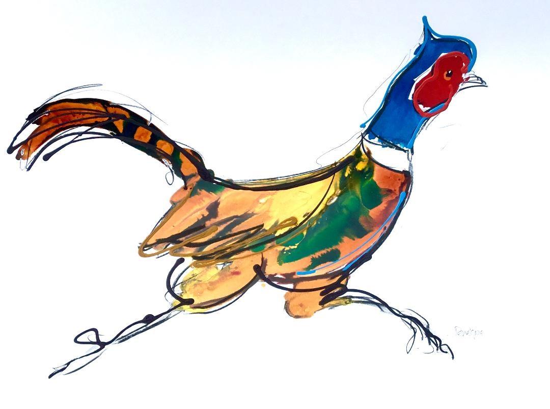 Happy Pheasant
