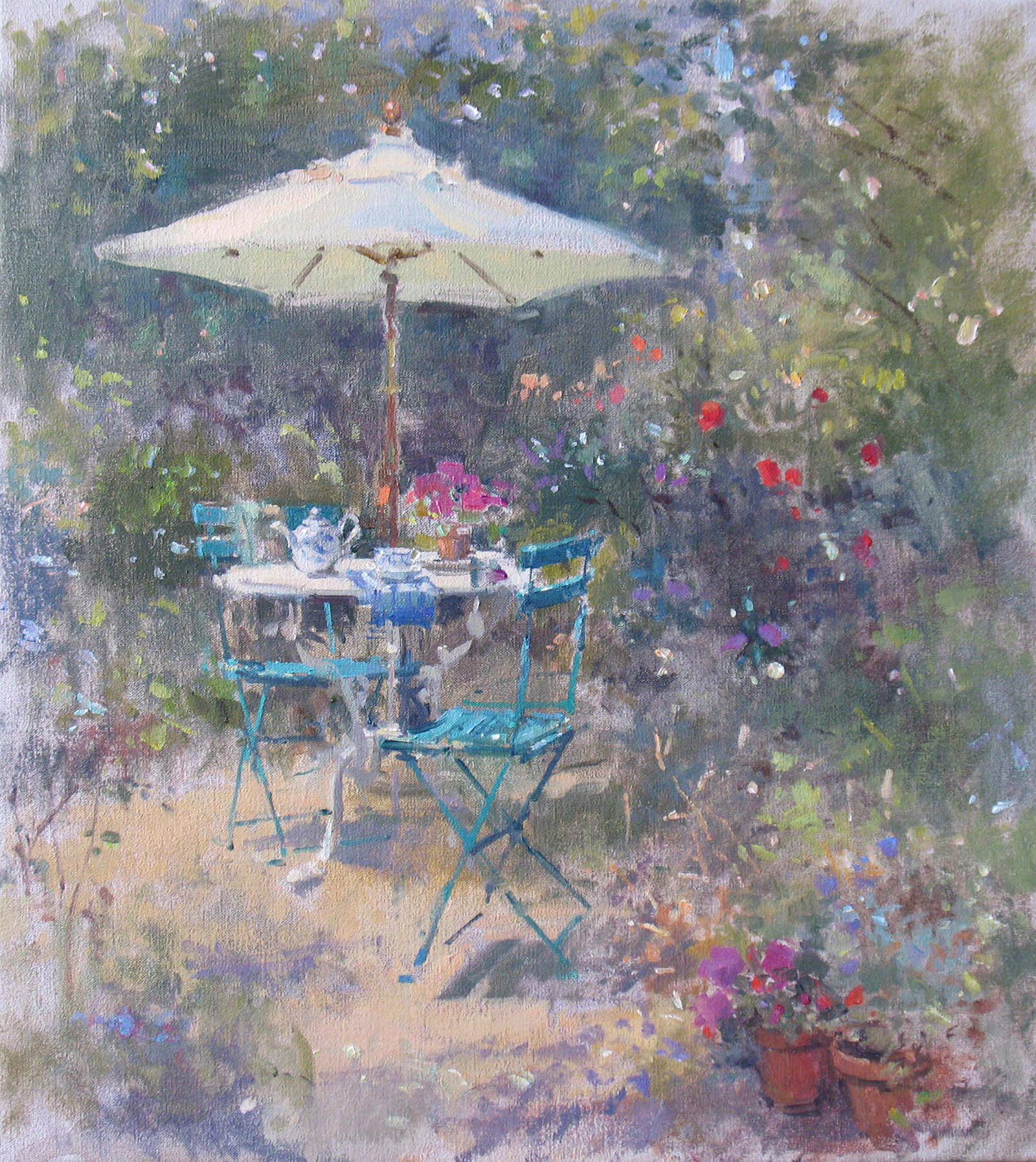 Garden-in-June-oil-on-canvas-22-x-20-