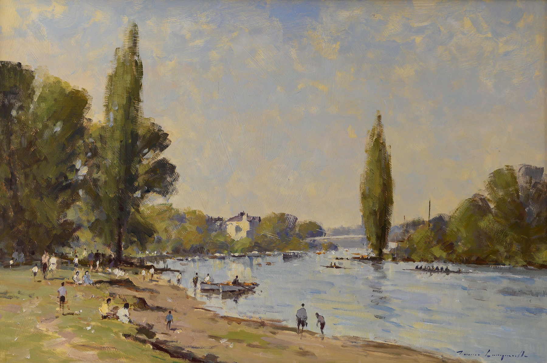 Summer on the Dee, Chester