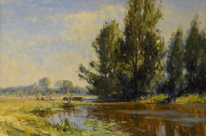Summer on the Nene, Oundle