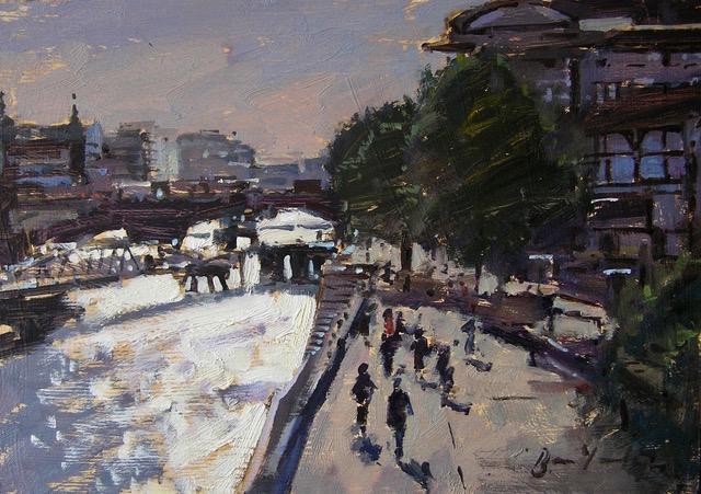 Albert Embankment from Millenium Bridge